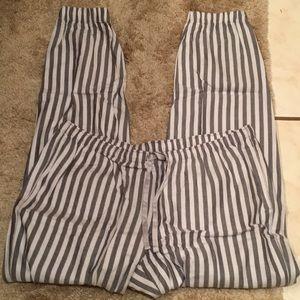 NWOT Victoria's Secret PJ pajama bottoms joggers M